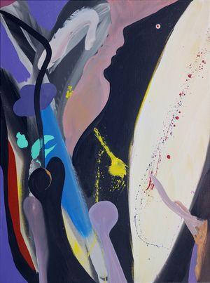 Vollwirklichkeit (Full Reality) by David Lehmann contemporary artwork painting