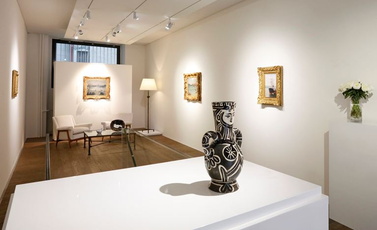 Exhibition view: Group Exhibition, Beyond the sea, Bailly Gallery, Geneva (4 June–26 June 2020). Courtesy Bailly Gallery.