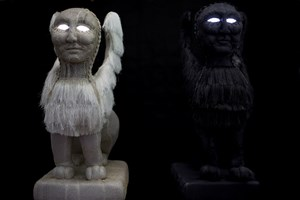 Shadow Sphinx and Light Sphinx by Tarryn Gill contemporary artwork