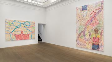 Contemporary art exhibition, Jutta Koether, 4 the Team at Lévy Gorvy, New York