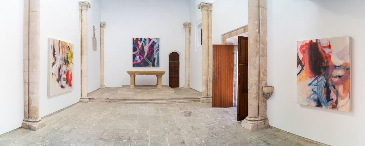 Exhibition view: Liliane Tomasko, Amygdala, KEWENIG, Palma (27 June–14 September 2019). Courtesy KEWENIG. Photo: Bruno Daureo.