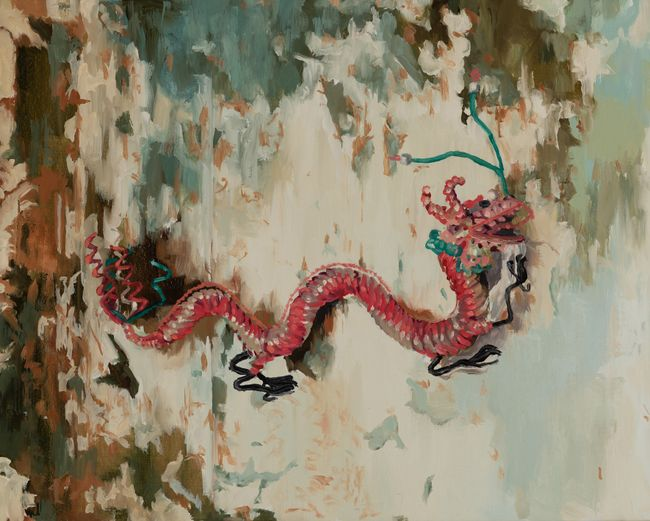 My mother's kitchen dragon by Melora Kuhn contemporary artwork
