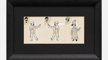 Contemporary art exhibition, Hergé vs. Wim Delvoye @ Knokke at rodolphe janssen, Knokke