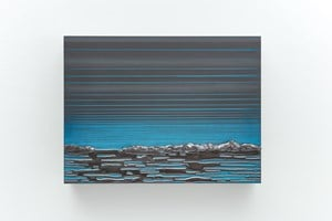 Rise and Fall #6 by Teresita Fernández contemporary artwork