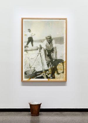 Working Class Man (Andamooka Opal Fields) by Yhonnie Scarce contemporary artwork