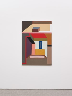 Like a fly on the map of the world by Nathalie Du Pasquier contemporary artwork