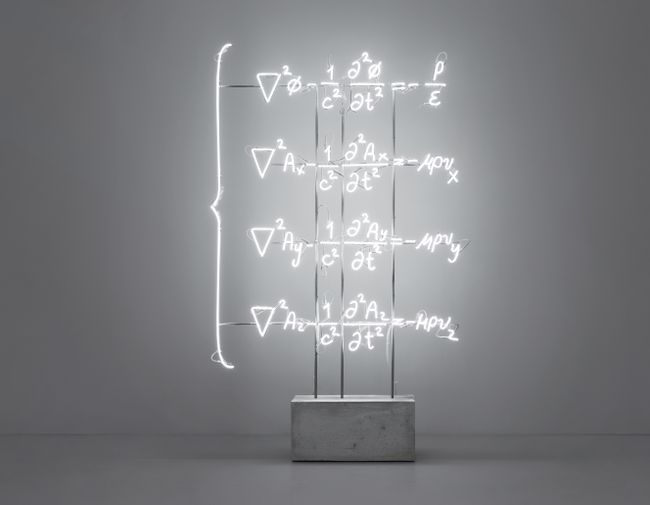 The Totality of Electromagnetic Phenomena (Maxwell's Equations) by Andrea Galvani contemporary artwork