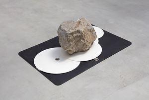 adjustable point made by Gabriel Kuri contemporary artwork