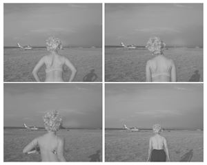 Plane Sequence (Self-portrait) by Tania Franco Klein contemporary artwork