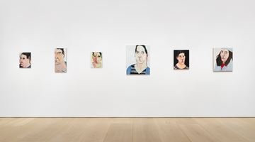Contemporary art exhibition, Chantal Joffe, Chantal Joffe at Victoria Miro, Mayfair, London
