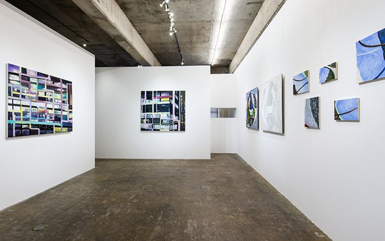 Exhibition view: Etsuko Watanabe & Toshiya Motai,Gegenüberstellung / confrontation, Yumiko Chiba Associates (6 March–10 April 2021). Courtesy Yumiko Chiba Associates. Photo: Masaru Yanagiba.