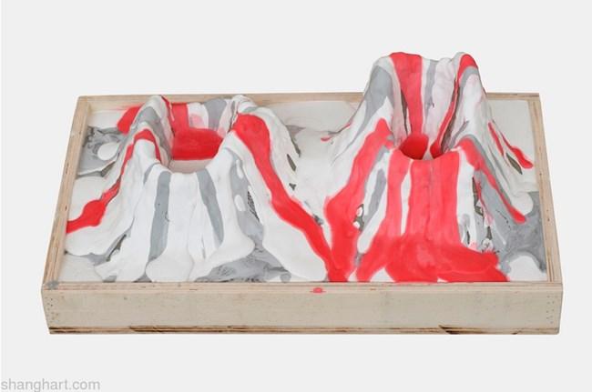 Volcano Museum No.2 by Shi Qing contemporary artwork
