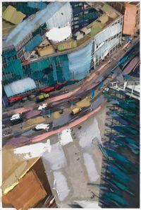 Folge den Markierungen by Erik Schmidt contemporary artwork mixed media