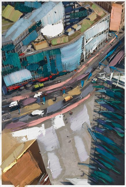 Folge den Markierungen by Erik Schmidt contemporary artwork