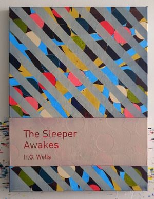 The Sleeper Awakes / H.G. Wells by Heman Chong contemporary artwork