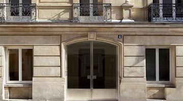 Gagosian contemporary art gallery in Paris, France