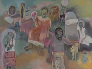 Episode by Sosa Joseph contemporary artwork painting
