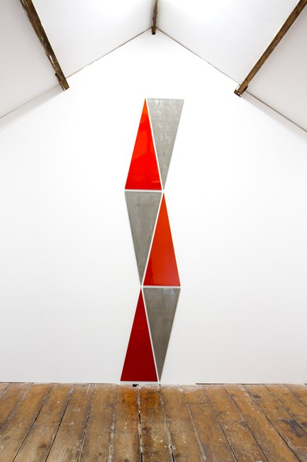 No. 615 Triangles by Rana Begum contemporary artwork