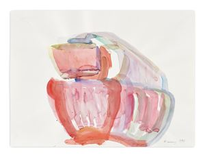 Ohne Titel (Untitled by Maria Lassnig contemporary artwork