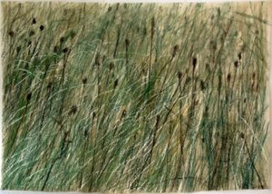 Leaves of Grass #16 by Wang Gongyi contemporary artwork