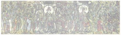 CMYK - The Murals in Yongle Palace by Yang Mian contemporary artwork 1