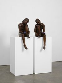 All things being equal, or I'm with you by Ryan Gander contemporary artwork sculpture