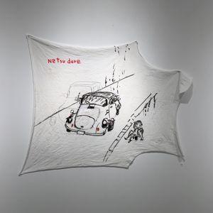 NETSUDARE by Kanji Yumisashi (弓指 寛治) contemporary artwork drawing, textile