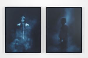 All the Boys (Profile 1) by Carrie Mae Weems contemporary artwork