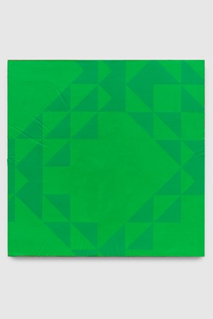 To Be Titled (Phthalo Green) by Mark Hagen contemporary artwork