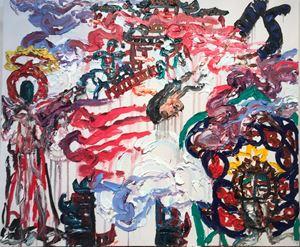 Ladybird's Garden 2 by Chen Ping contemporary artwork