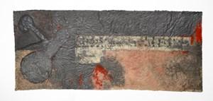 Cannon meat by Antonio Dias contemporary artwork