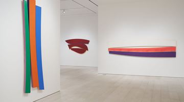 Contemporary art exhibition, Noland, Flares at Pace Gallery, New York