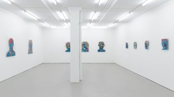 Contemporary art exhibition, Sam Mitchell & Gavin Hurley, In your face at Bartley & Company Art, Wellington
