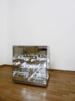 Unexpected by Brigitte Kowanz contemporary artwork