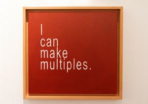 I Can Make Multiples 2 by David Boyce contemporary artwork
