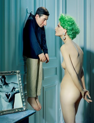 Untitled (after Cattelan) #4 by Miles Aldridge contemporary artwork