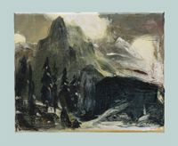 Old Scenery by Qiu Xiaofei contemporary artwork painting