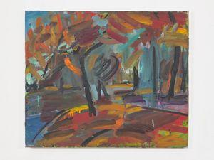 Regents Park by Sargy Mann contemporary artwork