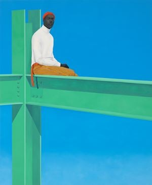 If you surrendered to the air, you could ride it by Amy Sherald contemporary artwork