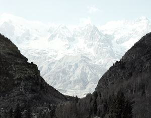 Mont Blanc. Just Things, #010 by Francesco Jodice contemporary artwork