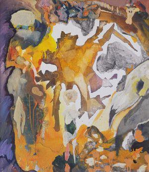 Plagiat (Plagiarism) by David Lehmann contemporary artwork painting