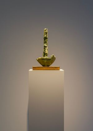 Fragment of Forgetting by Mark Manders contemporary artwork