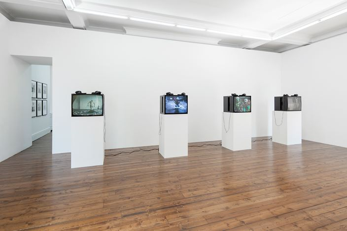 Exhibition view: Group Exhibition, New Order: Art, Product, Image 1976 - 1995, Sprüth Magers, London (24 July–14 September 2019). Courtesy Sprüth Magers. Photo: Voytek Ketz, London.