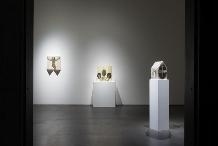 Exhibition view: Sandra Vásquez de la Horra, Take Back My Shadow, WoosonGallery, Hong Kong (21 March–8 June, 2019). CourtesyWoosonGallery.
