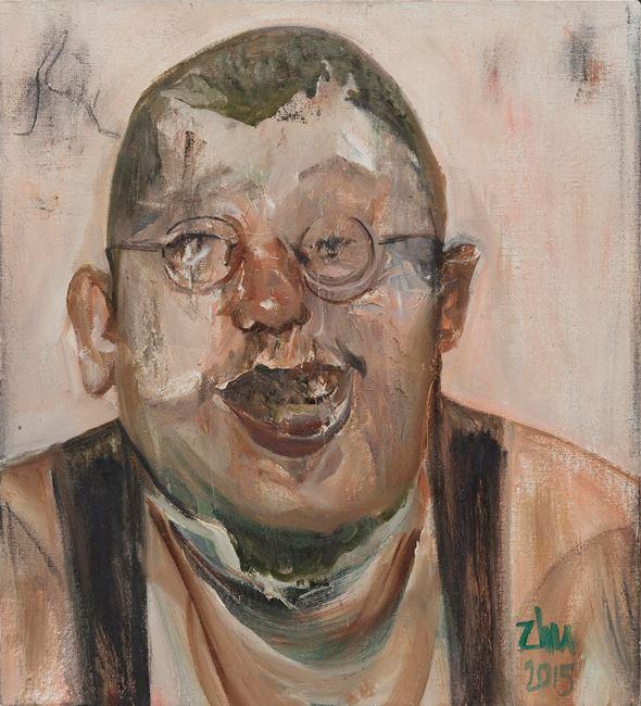 Laugh #2 by Zhu Xiangmin contemporary artwork