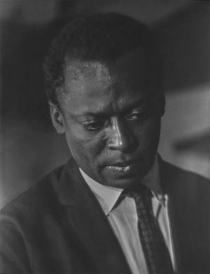 Miles Davis by Roy DeCarava contemporary artwork