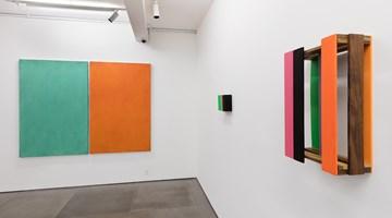 Contemporary art exhibition, Sérgio Sister, Pintura com ar, Sombra e Espaço at Galeria Nara Roesler, Rio de Janeiro