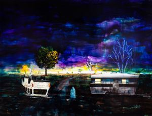 Same bed different dreams by William Mackinnon contemporary artwork