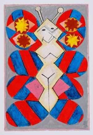 Untitled (moth) #3 by Brendan Huntley contemporary artwork