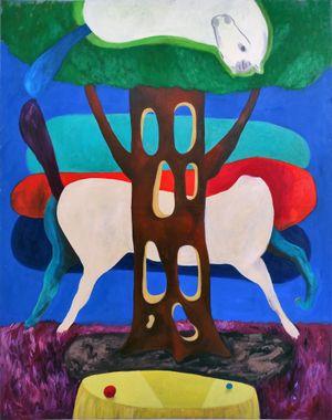 myopinionisahorse by Janes Haid-Schmallenberg contemporary artwork
